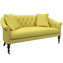 Estate Linen Citrus Becket Loveseat