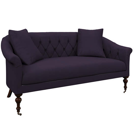 Estate Linen Indigo Becket Loveseat
