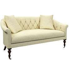 Greylock Ivory Becket Loveseat