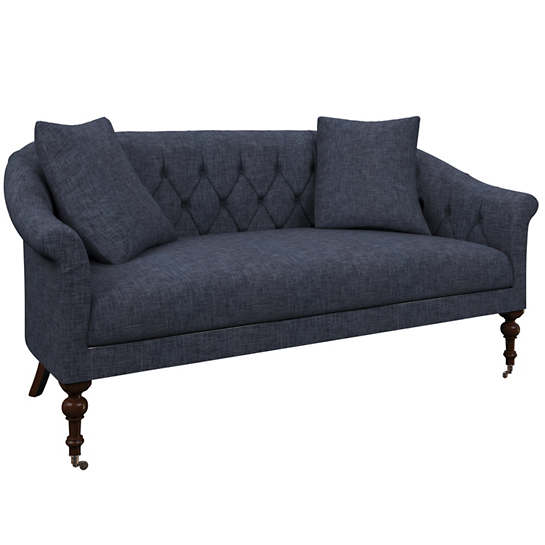 Greylock Navy Becket Loveseat