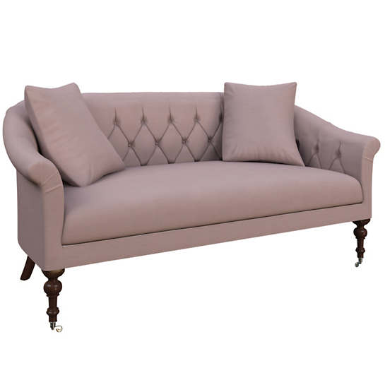 Weathered Linen Heather Becket Loveseat