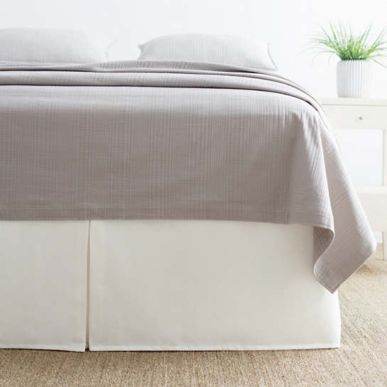 Brussels Ivory Bed Skirt
