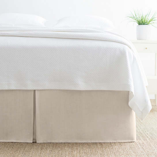 Brussels Natural Bed Skirt