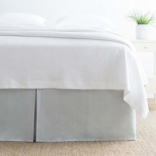 Brussels Sky Bed Skirt