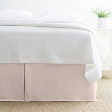 Brussels Slipper Pink Bed Skirt