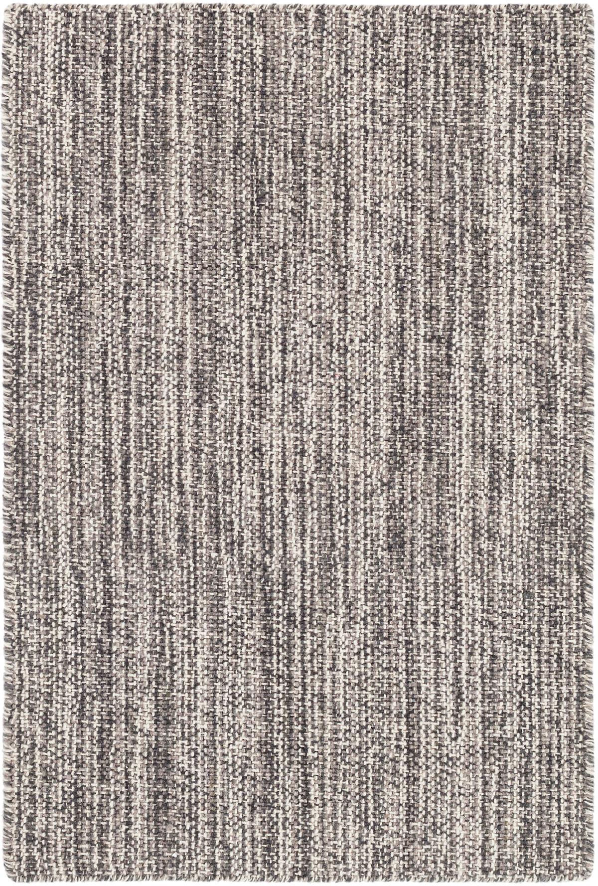 Bella Grey Woven Wool Rug