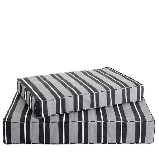 Berkeley Stripe Black Dog Bed