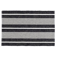 Berkeley Stripe Black Placemat