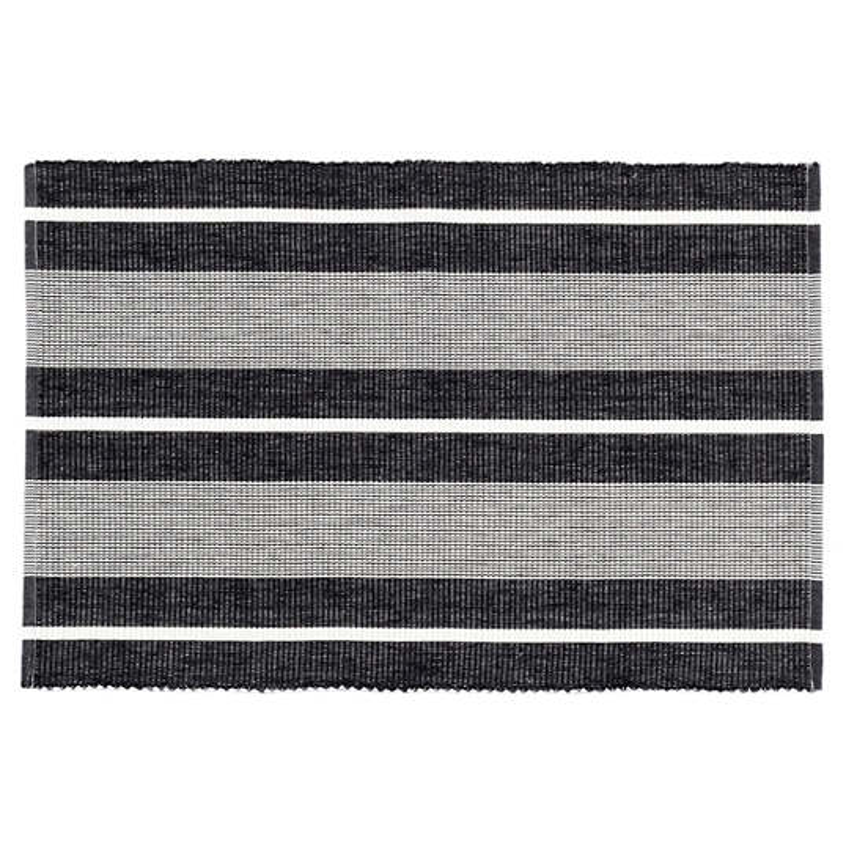 Berkeley Stripe Black Placemat