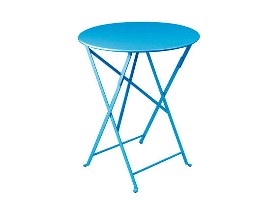 Turquoise Bistro Folding Table