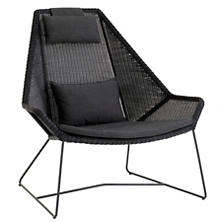 Black Breeze Highback Chair