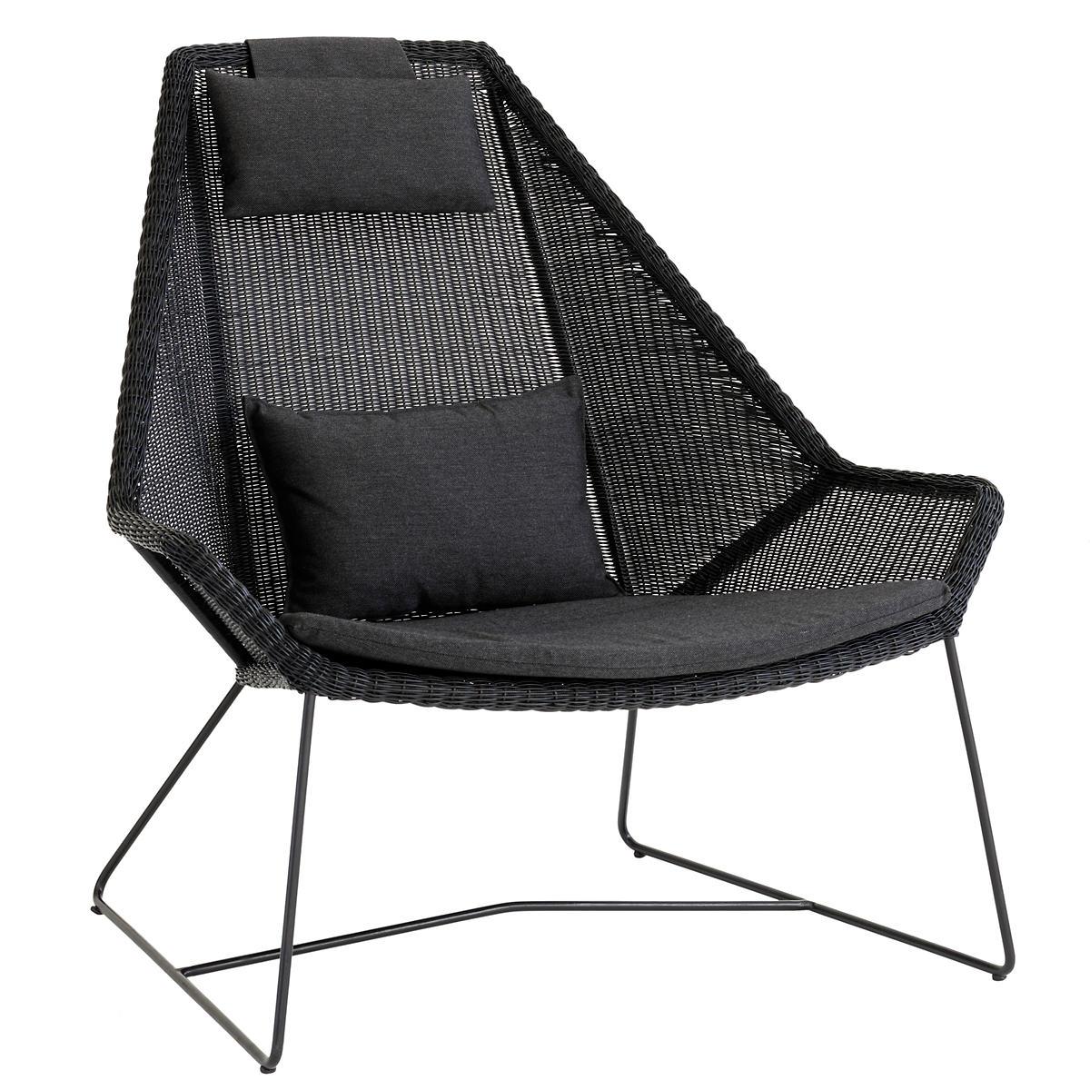 Black Breeze Highback Chair
