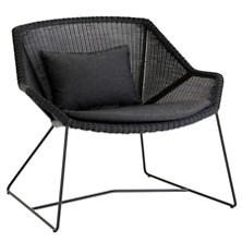 Black Breeze Lounge Chair