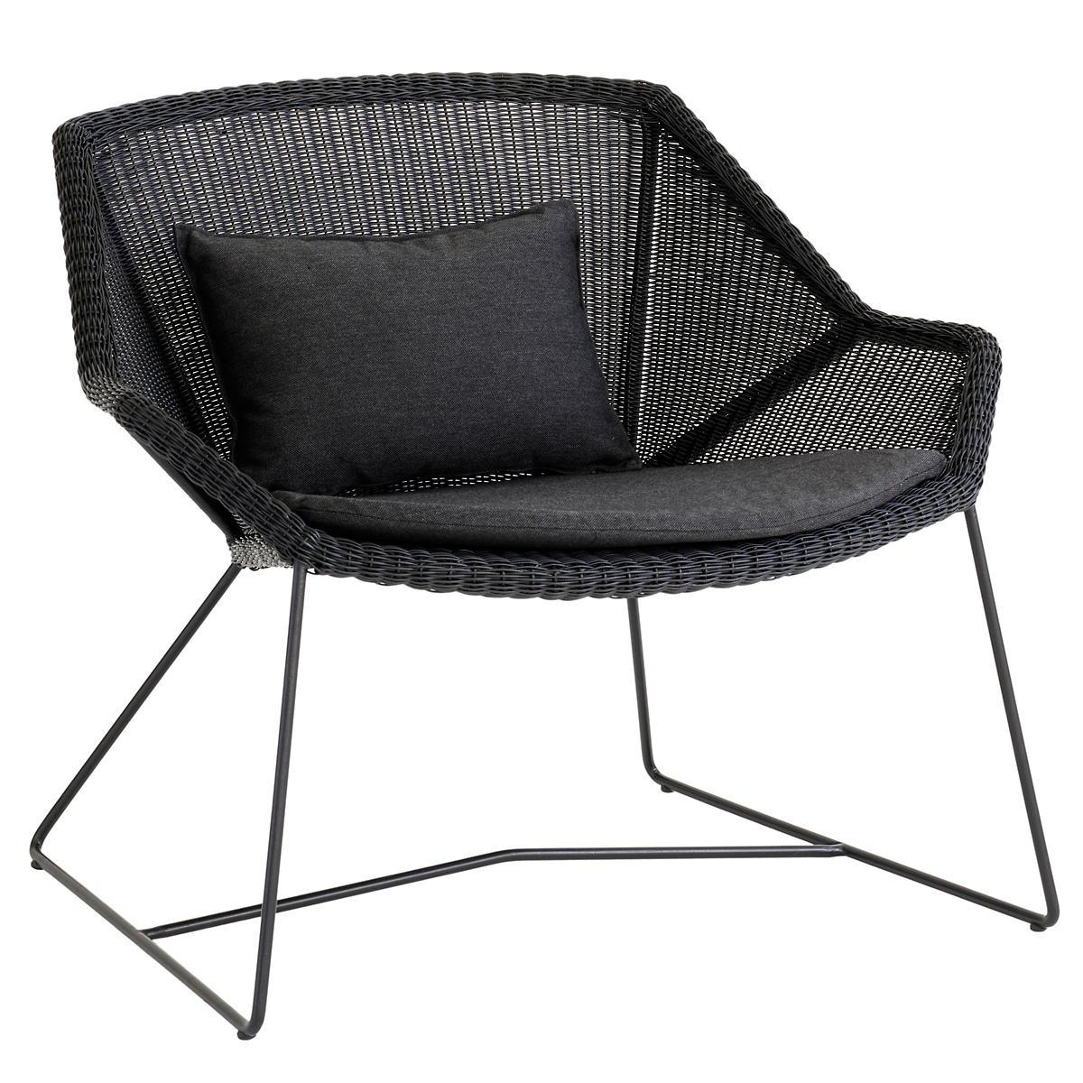 Black Breeze Lounge Chair