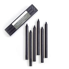 Black Taper Candles