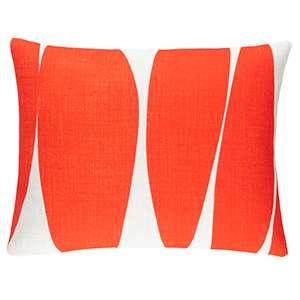 Blades Orange Indoor/Outdoor Decorative Pillow