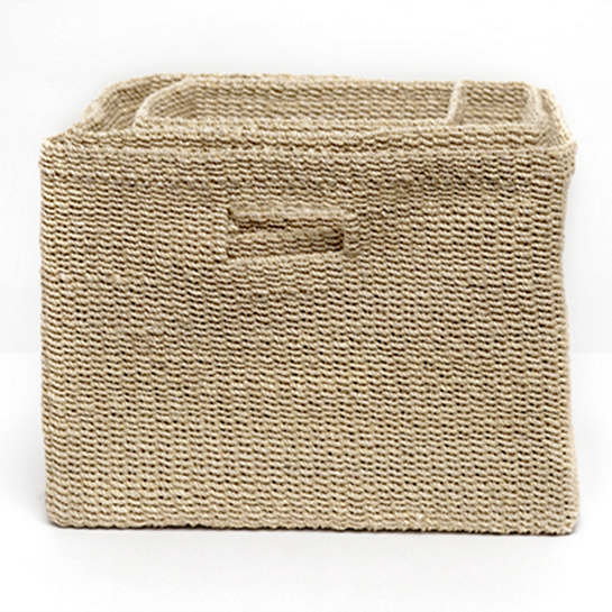 Bleached Lindon Baskets/Set Of 3