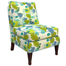 Block Floral Green Eldorado Chair
