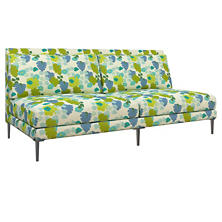 Block Floral Green Portola Sofa