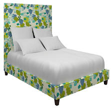 Block Floral Green Stonington Bed
