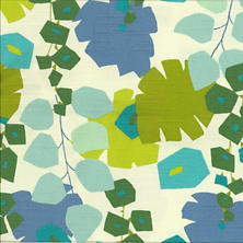 Block Floral Green Swatch