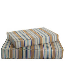 Blue Heron Stripe Dog Bed