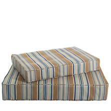Blue Heron Stripe Dog Bed