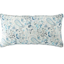Ines Linen Blue Decorative Pillow