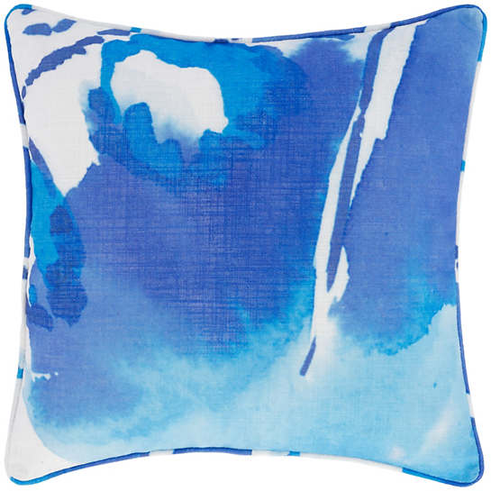 Blue Monarch Indoor/Outdoor Decorative Pillow
