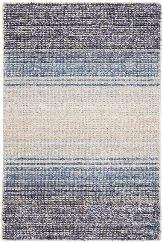 Blue Moon Cotton/Viscose Woven Rug
