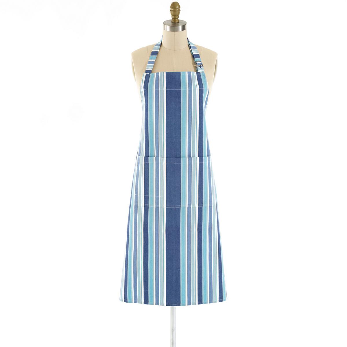Bluemarine Stripe Apron