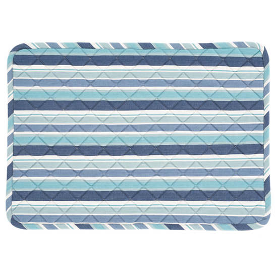 Bluemarine Stripe Quilted Placemat