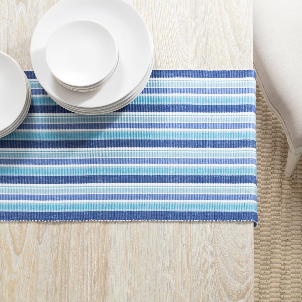 Bluemarine Stripe Table Runner