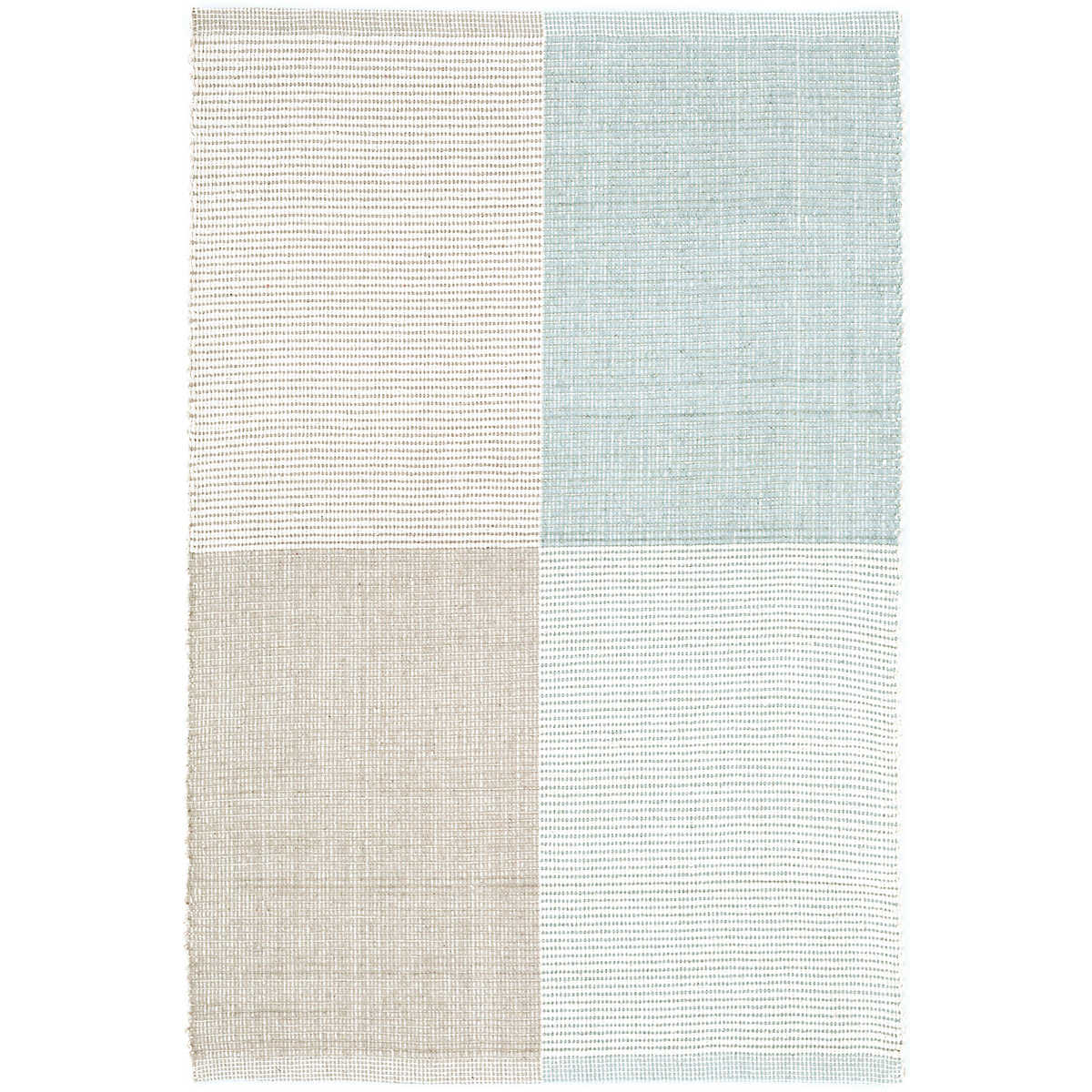 Bo Blue Woven Cotton Rug Dash Amp Albert