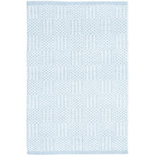 Bonnie Blue Woven Cotton Rug
