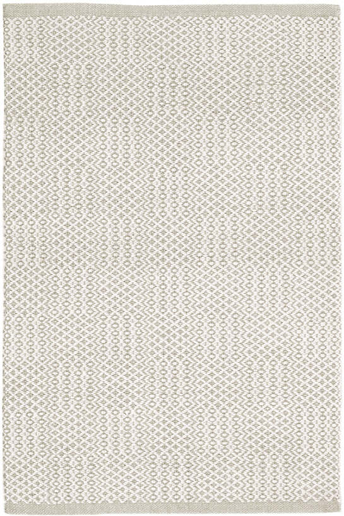 Bonnie Grey Woven Cotton Rug