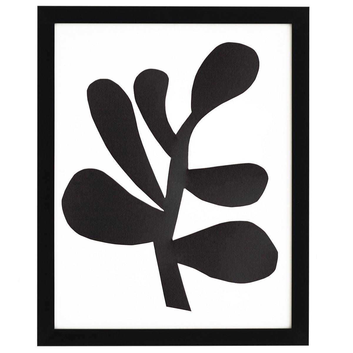 Botanical Silhouette 1 Art