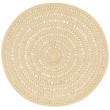 Bowline Natural Indoor/Outdoor Round Rug