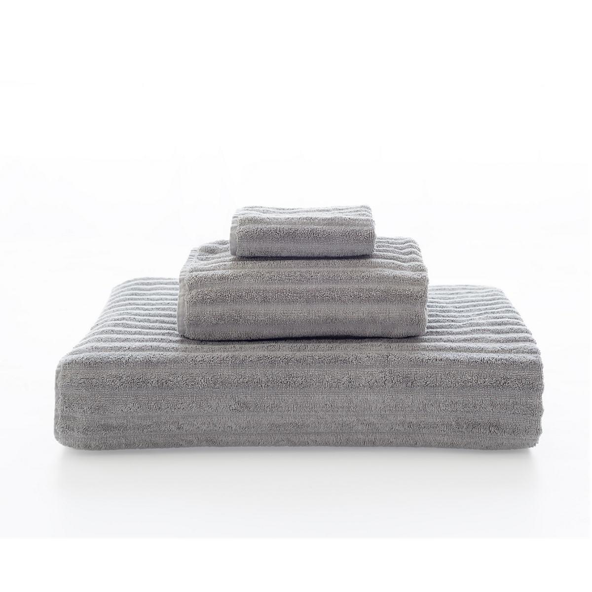 Boyfriend Grey Towel