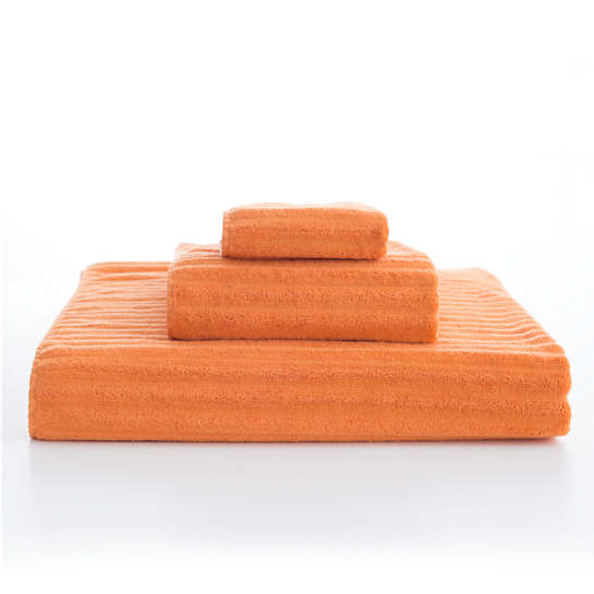 Boyfriend Orange Towel