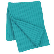 Boyfriend Peacock Matelassé Throw