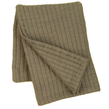 Boyfriend Vetiver Matelassé Throw