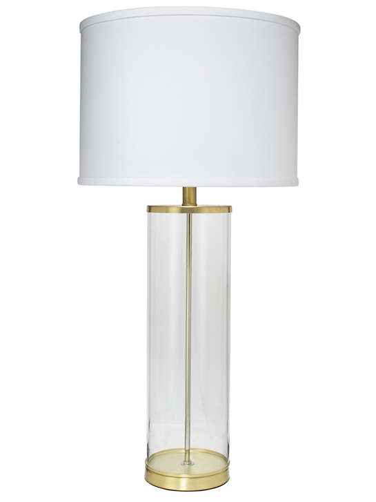 Brass Rockefeller Table Lamp