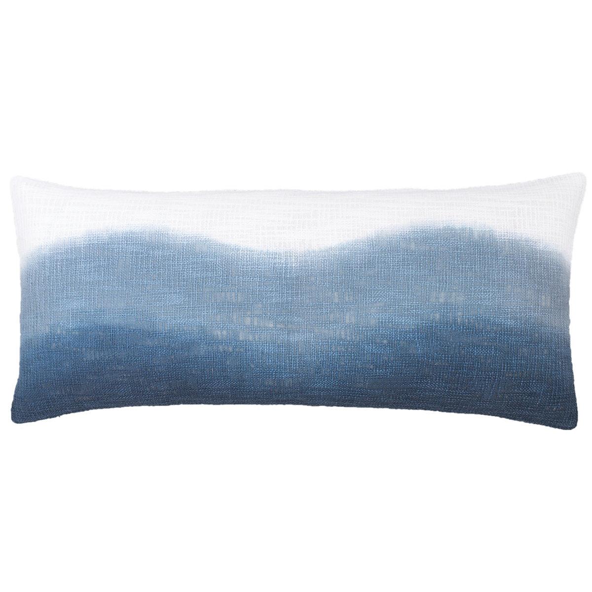 . breakwater blue decorative pillow  pine cone hill