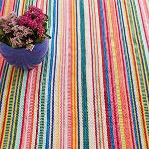 Bright Stripe Indoor/Outdoor Rug