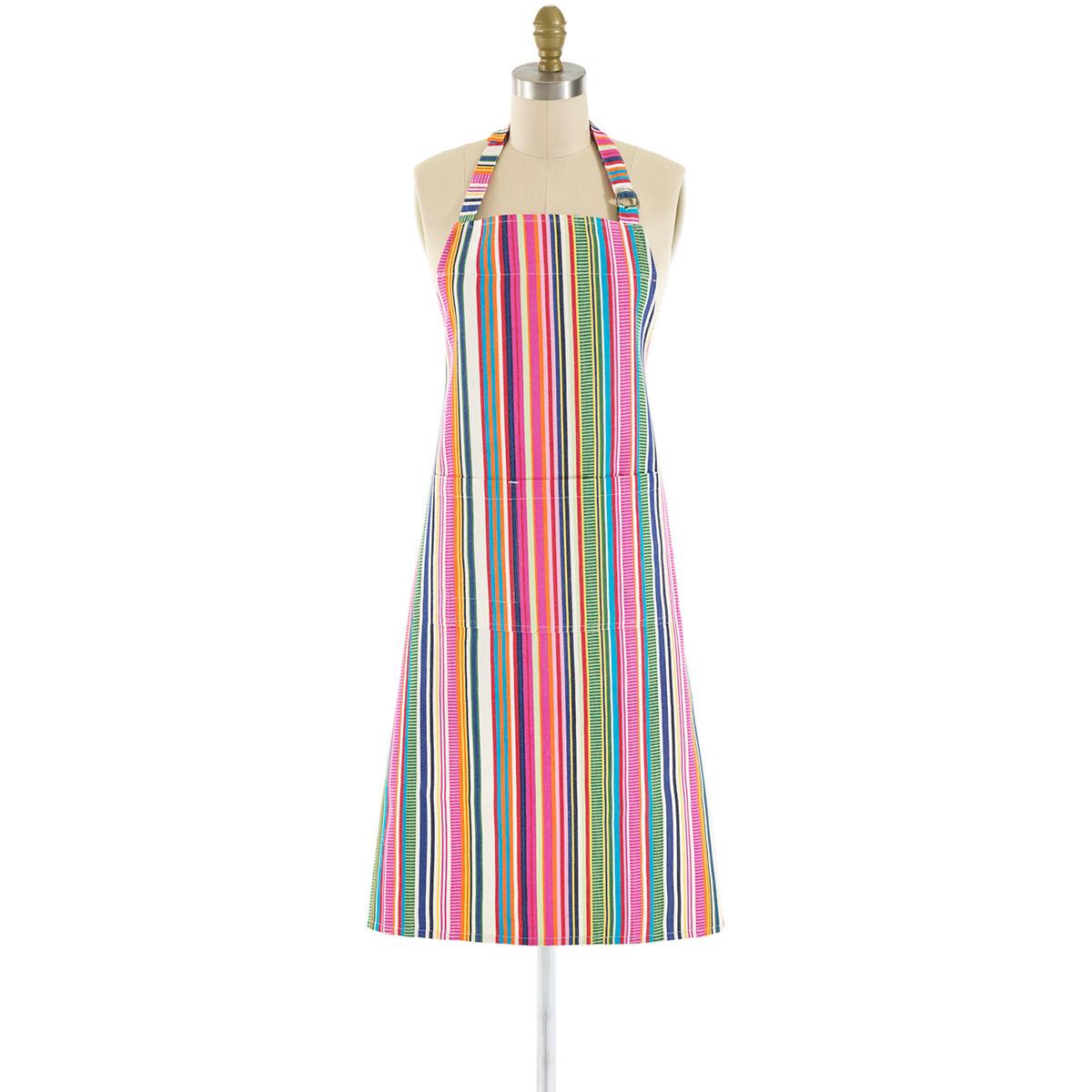 Bright Stripe Apron