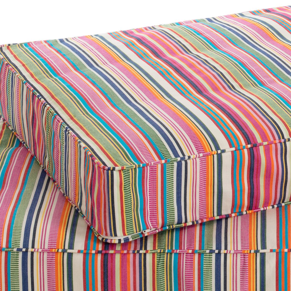 Bright Stripe Dog Bed Cover