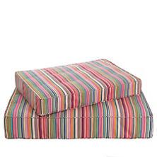 Bright Stripe Dog Bed