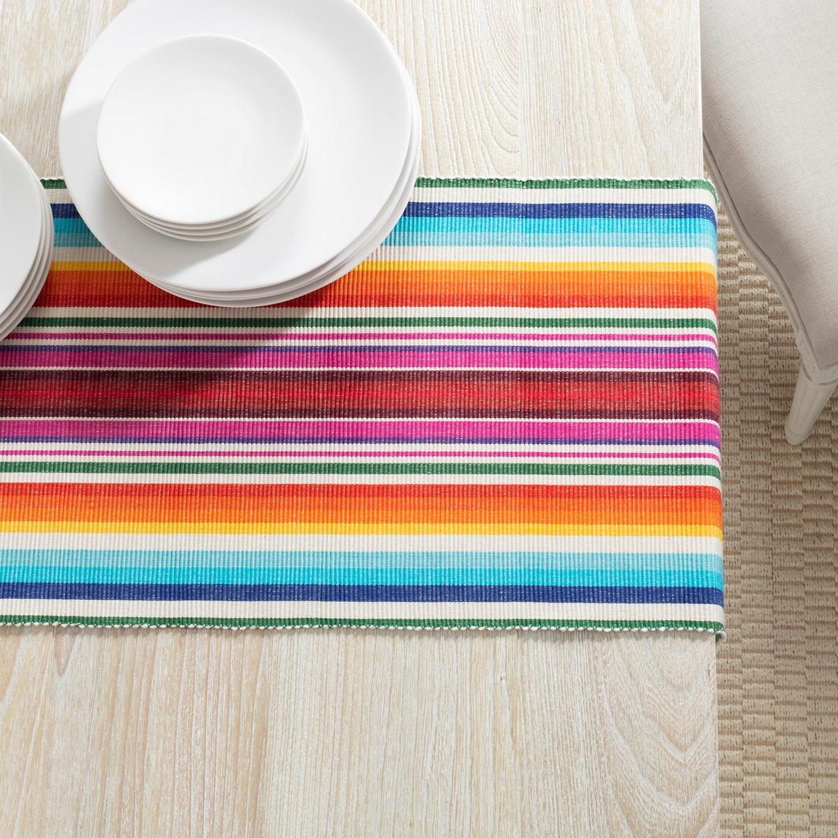 Brighton Stripe Table Runner