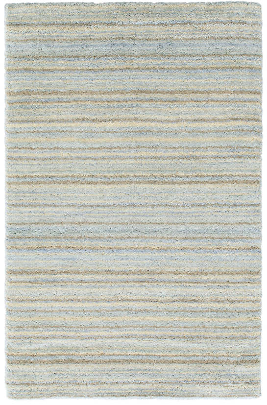 Brindle Stripe Sea Loom Knotted Rug